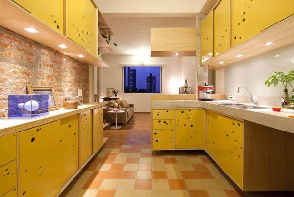 COZINHA MODERNA planejada armários balcão cores e modelos