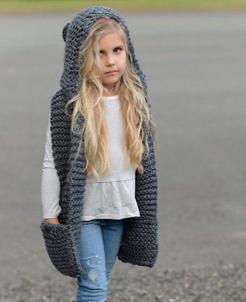 Cachecol Com Capuz Moda Inverno Veja Como Usar B Amp F