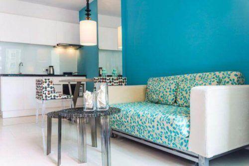 Pintadas De Azul Color En El Dormitorio Diez Ejemplos Mi Casa - Paredes-pintadas-de-azul