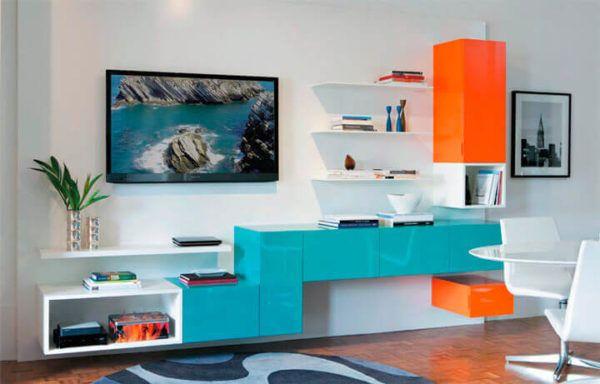 Decoração Azul Turquesa, Paredes, Móveis, Ambientes