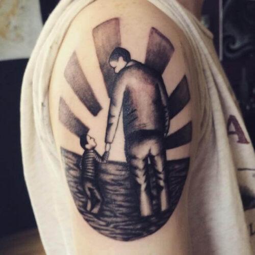 Fotos De Tatuagem De Pai E Filha: Tatuagem Para FILHOS Casal, Masculina, Feminina E Mais