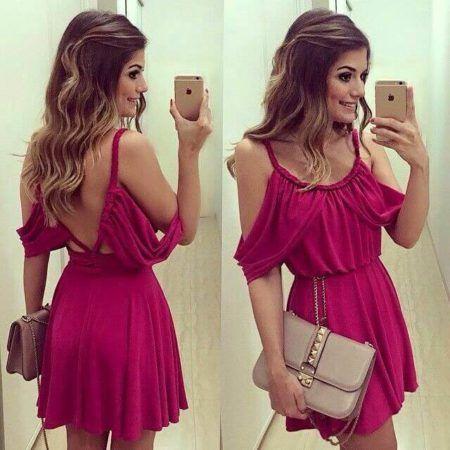 Vestido de Verão Moda 2019 em belos Looks