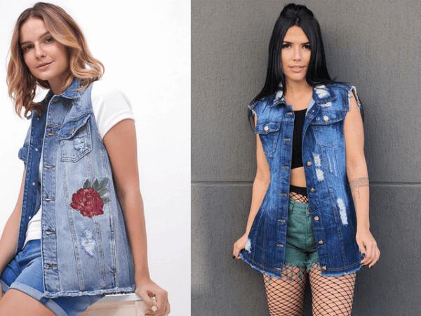 Como usar Colete Feminino, vários Modelos super estilosos
