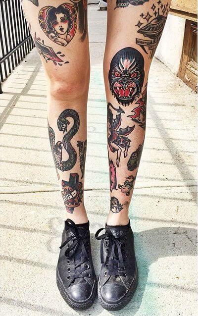 Old School Tattoo Desenhos Bem Legais Para Tatuar Bela Feliz