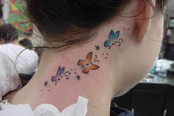 Tatuagem Atrás da Orelha Feminina, Desenhos legais