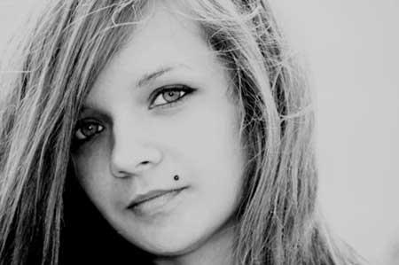 Piercing Monroe Feminino, Fotos, Como colocar, cuidados