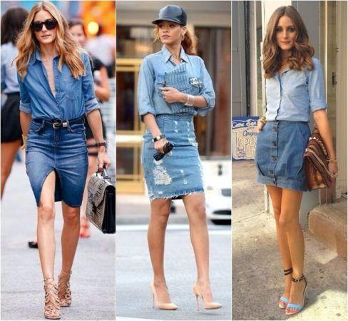 Camisa Jeans Feminina (Como Combinar e usar com tudo)