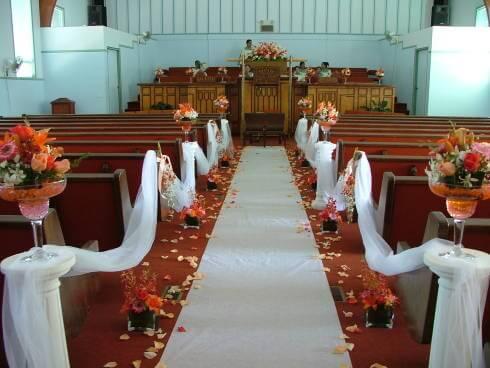 Decoração de Casamento na Igreja, Inspire-se nos Arranjos