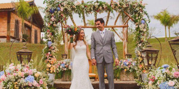 Decoração de Casamento no Campo, no Sítio (Decoração Romântica)