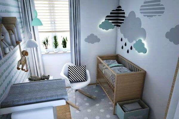 Decoração de quarto de Bebê, (Móveis e Cores)