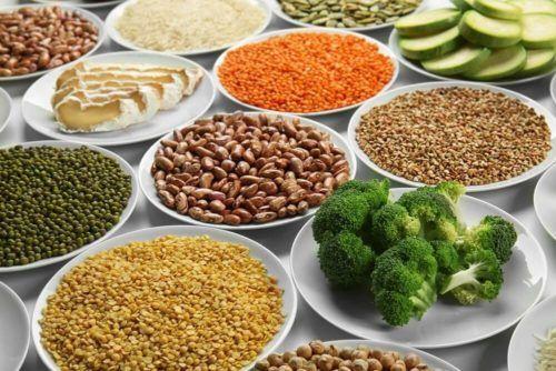 dieta de proteinas vegetales